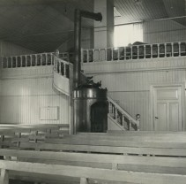 Karlanda missionsförsamling, Helgebyn, foto GvSchoultz 1957 05